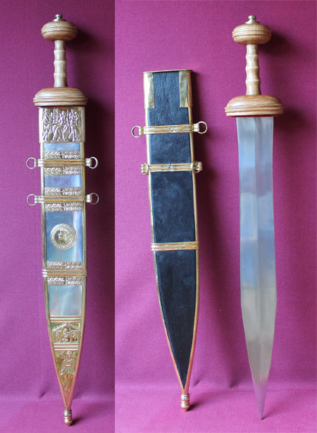 Tiberius Sword with Scabbard