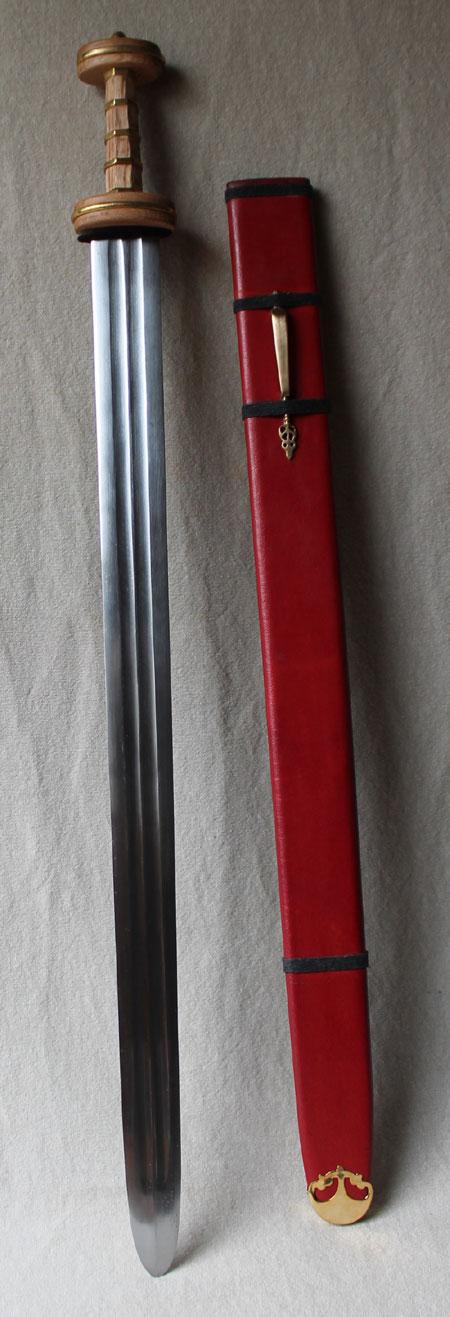 Roman Sword Type Podlodow, Spatha-Iron