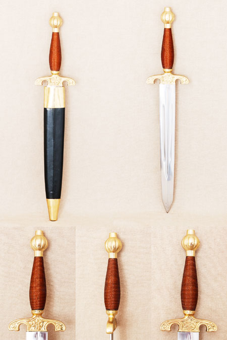 Dagger, English, 17th century fencing