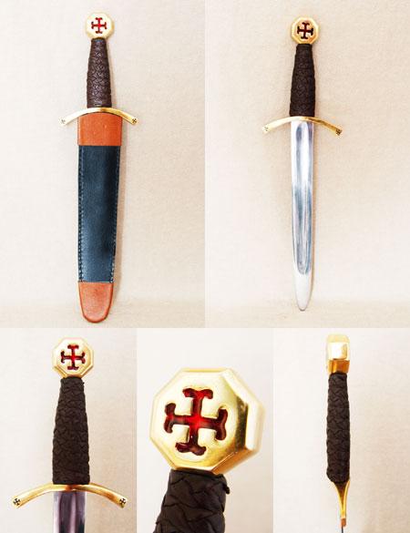 Knights Templar dagger, crusades