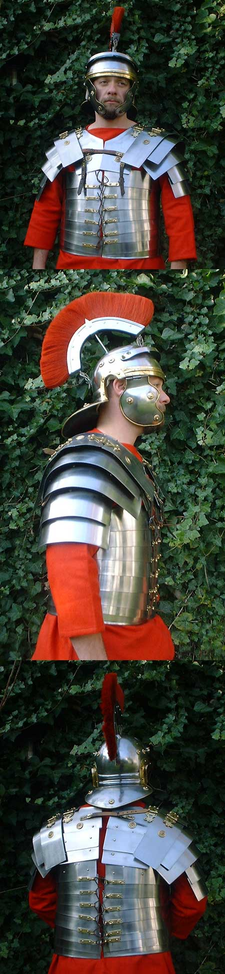 Roman Legionnaire Armour lorica, Corbridge type