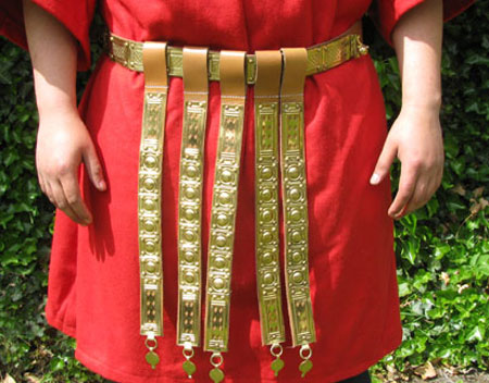 Roman legionnaire light belt cingulum for Rome's legion