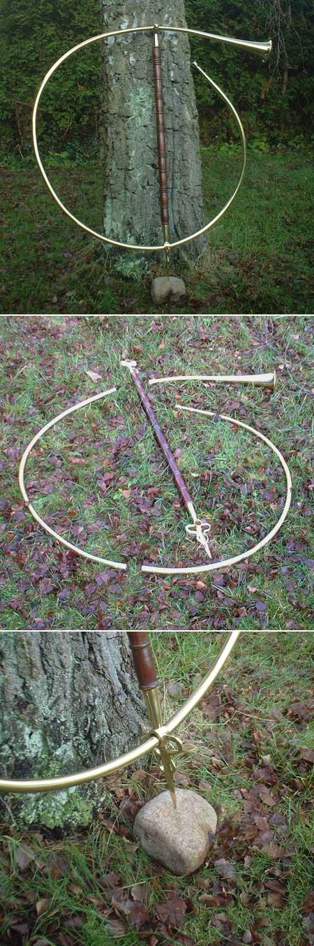 Signalhorn für Roms Legionen ca. 100 AD