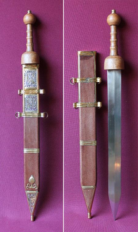 Gladius - Schwert der römischen Legionäre, Typ Pompeii