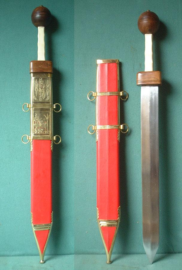 Gladius Römer - Schwert der römischen Legionäre, Typ Pompeii