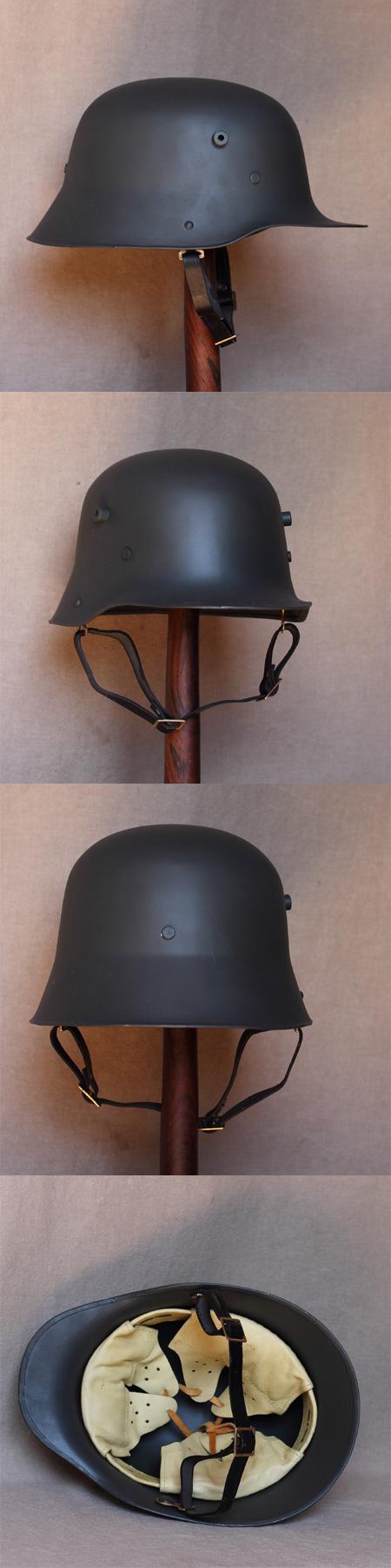 Deutscher Stahlhelm M 16, 1. Weltkrieg (1916)
