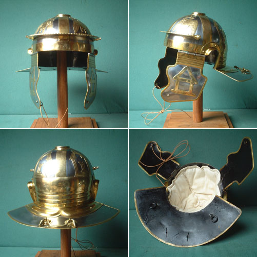 Römer Helm der Legionäre, Italic D (Worms)