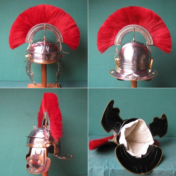 Zenturionenhelm der Offiziere in Roms Legionen