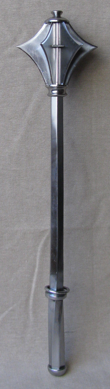 Medieval flanged mace