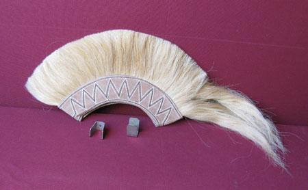 Crest for Greek/Corinthian helmets, horsehair