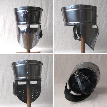Crusader Templar Helmet, 13th century