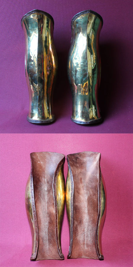 Greek Greaves, Pair