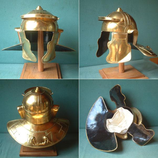 Roman Niedermörmter reenactor helmet (150-250 AD)
