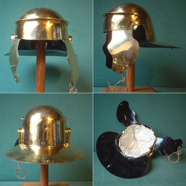 Hilfstruppen-Helm der Legionäre Roms, 3.Jhdt. AD
