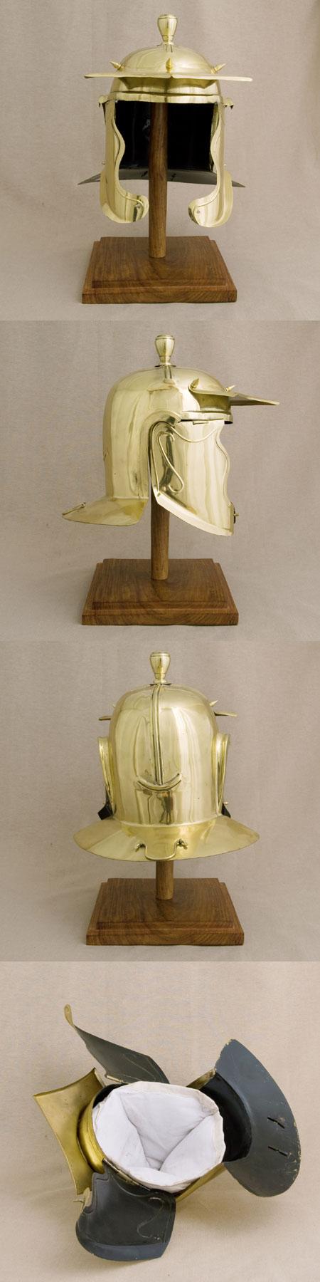 Roman Buch helmet (200  - 300 AD) for reenactors