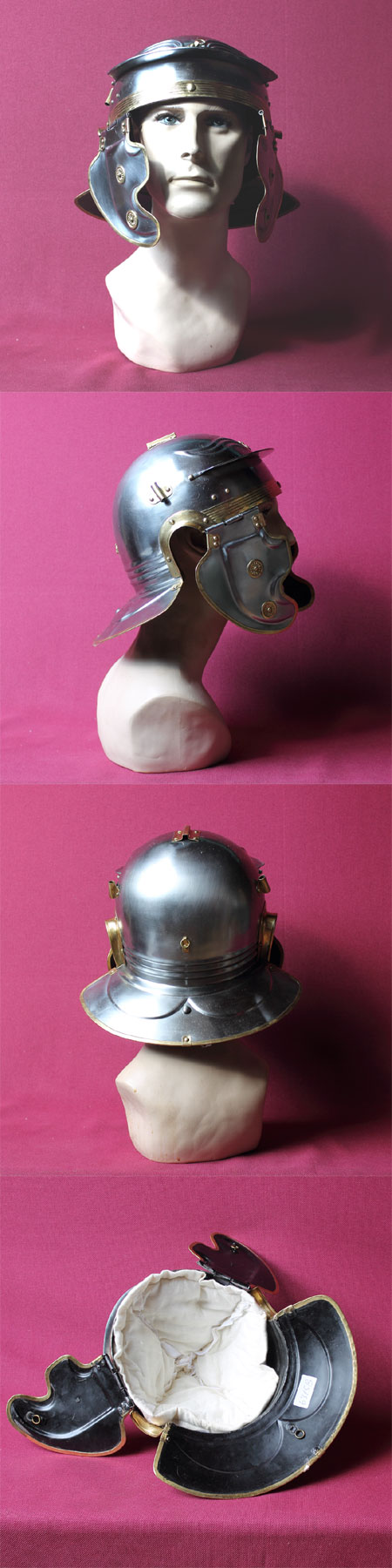 Roman Helmet Gallic F (Becancon)