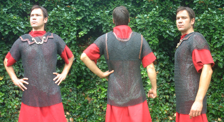 Roman chainmail for legionairies size S