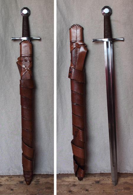 Crusader sword, Holy Land, 12th cent., light combat