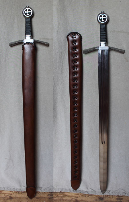 New  Cross Sword With Scabbard