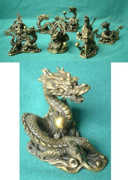 Feng Shui 8-Drachen-Set, Import aus China
