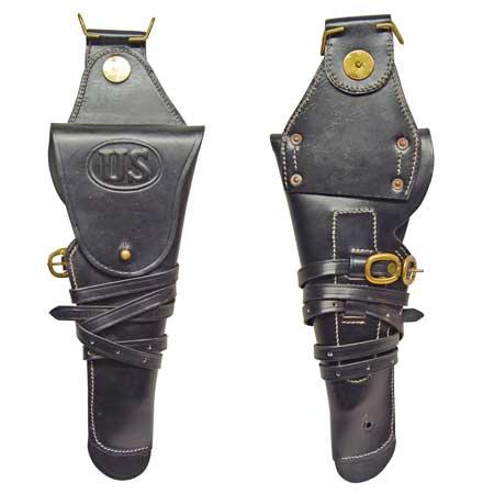 Holster (schwarz),  USA, 1. und 2. WK, M1912 für Colt 1911 .45