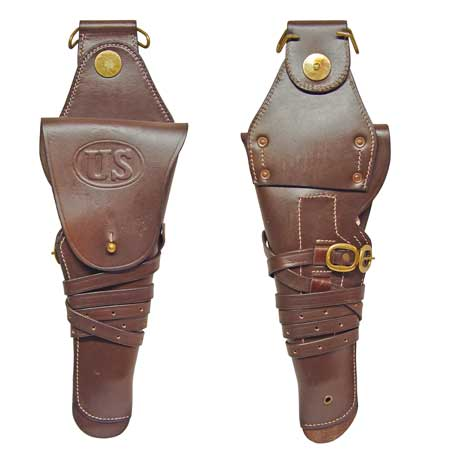 US WW2 M1912 Colt 1911 .45 Holster -Brown
