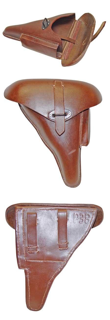 WWII P38 Holster - Leder (braun)