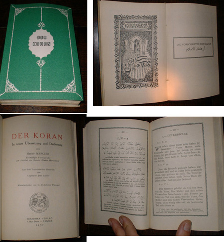 The Koran, translated by Henry Mercier