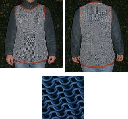 Special Price - NEW !! Lightweight Chain Mail Shirt w/o sleeves
