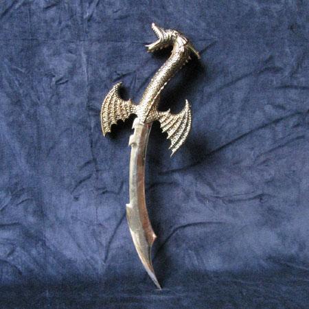 Fantasy dragon dagger