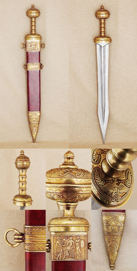 Roman Gladius short sword, 2nd century A.D.