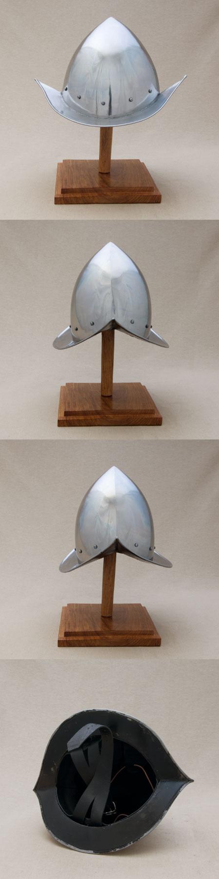 Mittelalter Helm passend zur Malteser-Rüstung