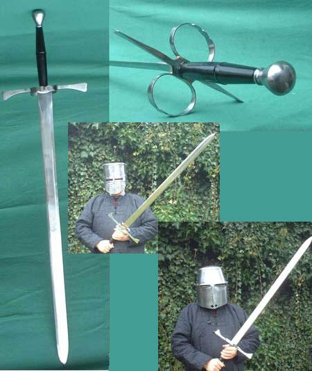 Bidenhänder, deutsches Schwert d. 16. Jhdts.