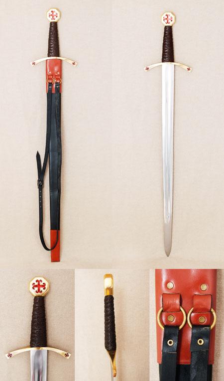 12. Jhdt. Templerorden Kreuzritter Schwert