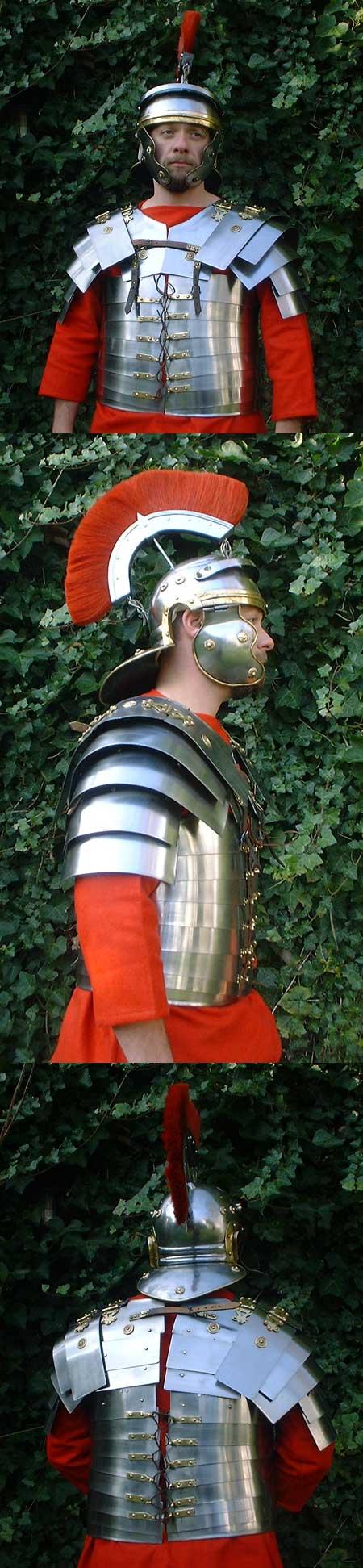 Römer-Rüstung, lorica segmentata, leicht