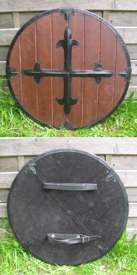 Mittelalter-Schild für leichten Schaukampf
