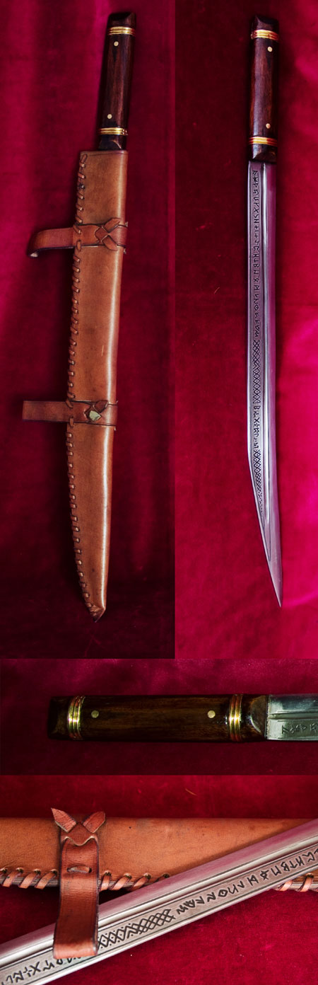 Beagnoth Sax Schwert (Thames scramasax)