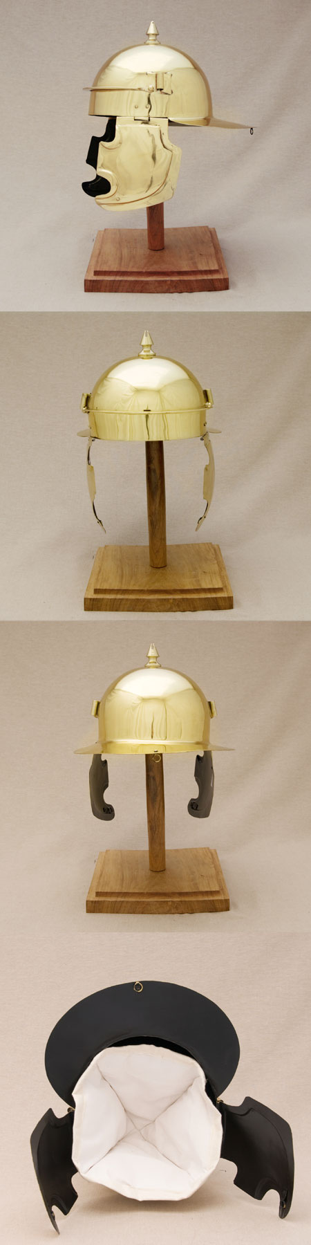 Helm der Legionäre Roms, 1.Jhdt.AD, Coolus E