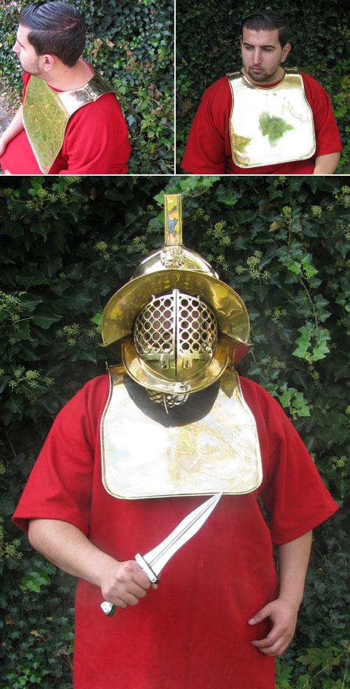 Gladiatoren - Brust und Rückenpanzer, Deepeeka
