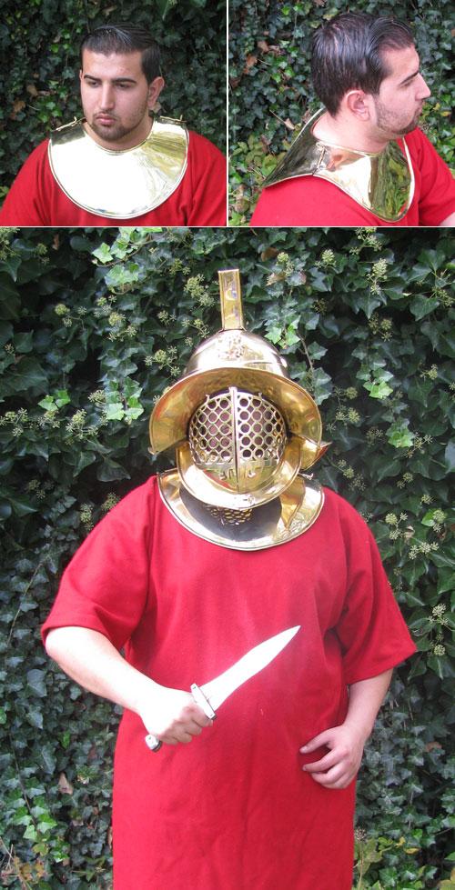 Gladiatoren - Brust und Rückenpanzer