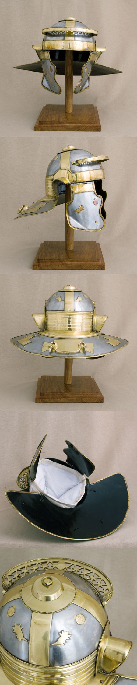 Römer Niedermörmter Helm, Deepeeka-Replika