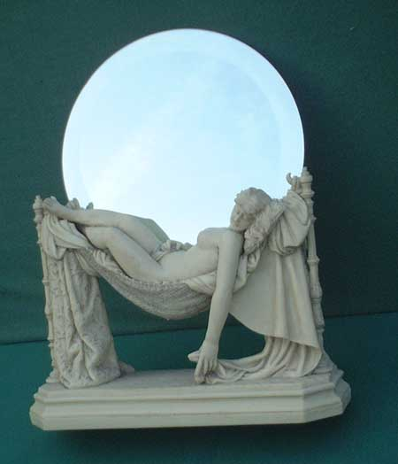 Spiegel Barock, feine Marmor Imitation