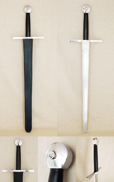 Eineinhalbhand-Schwert wie im 13 Jhdt.