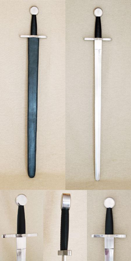 Schwert mit Scheibenknauf