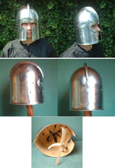 Besonders starker Mittelalter-Helm