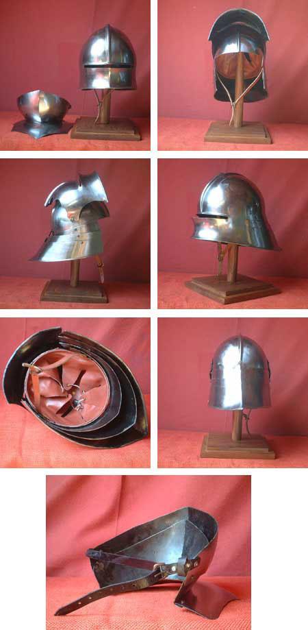 Großer Schaller - Helm v.1480, Sigmund von Tirol