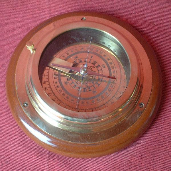 Kartentisch - Kompass (Modell des 18.Jhdts.)