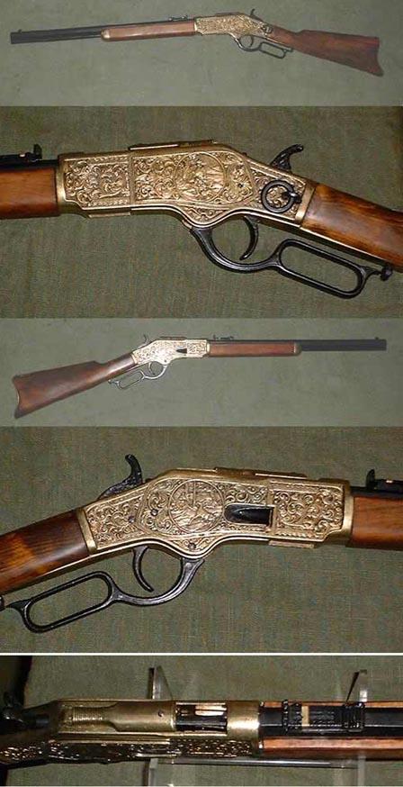 Winchester M 1866 Western Sattelkarabiner
