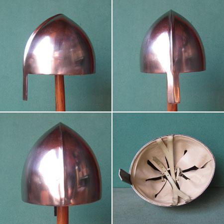Starker Nasal-Helm Wikinger-Normannen,um 900 AD