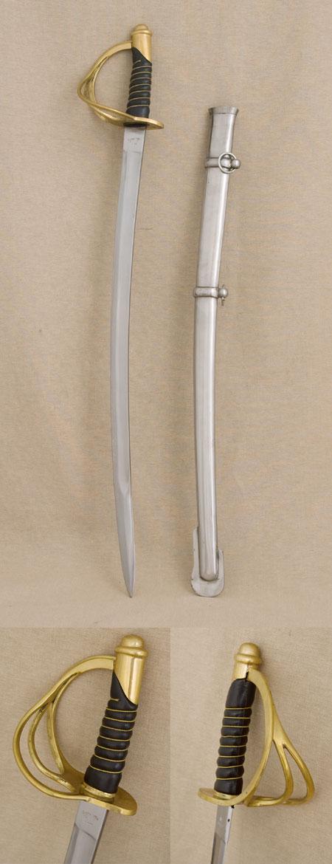 US Cavalry Sabre, Pattern 1860 ( Replica ) Civil War